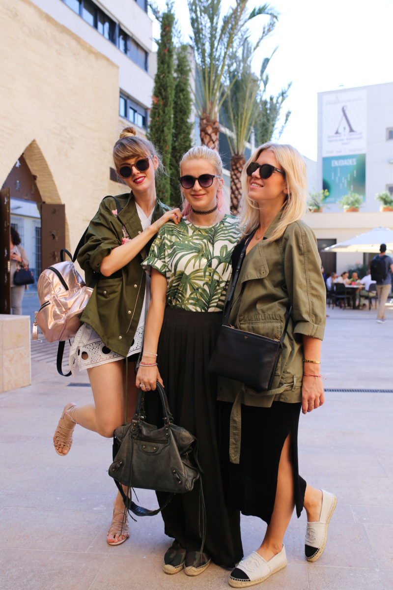 Bloggerinnen, Valencia, City Look