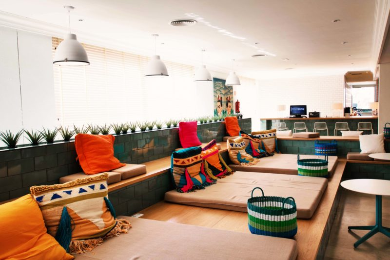 Interior des Sol House Ibiza mixed by Ibiza Rocks Hotel