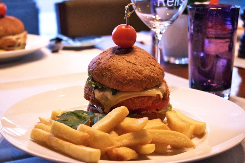 Veggie Burger im Westin Grand Berlin