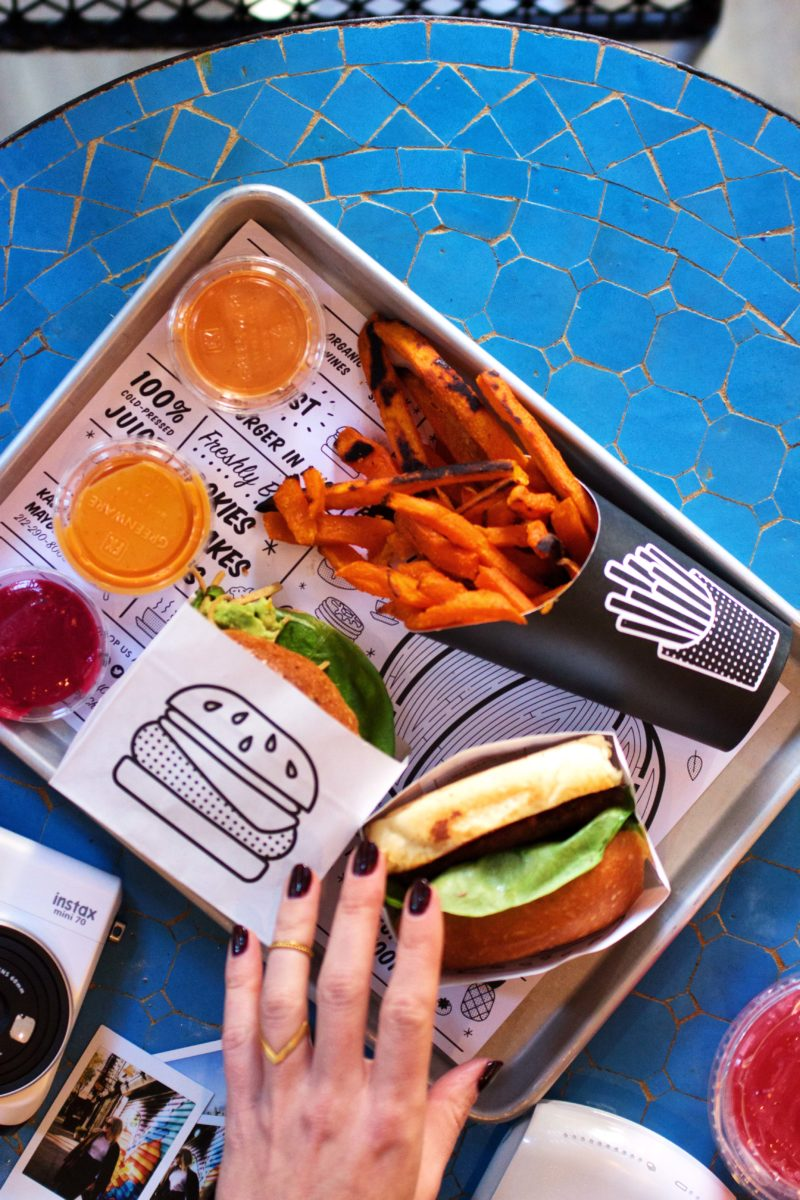by Chloe vegan Burger New York